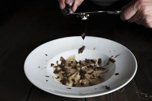 Ravioli con trufa